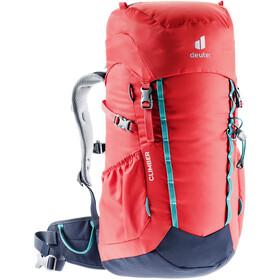 deuter Climber Backpack 22l Kids, czerwony